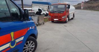 Jandarmadan kaçak akaryakıt operasyonu