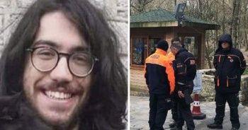 Kayıp üniversite öğrencisi Arda, Belgrad Ormanı'nda aranıyor