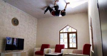 Konya'da 'baş döndüren' görüntüler! 'Örümcek adam gibi'