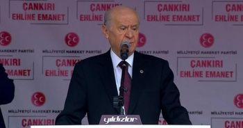 MHP lideri Bahçeli: Beka ne zamandır anketlerle ölçülüyor