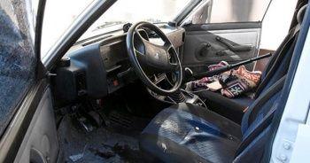 Otomobilin içinde kendini vuran şahıs ağır yaralandı