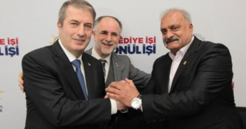 Sarıyer'de 45 CHP üyesi AK Parti'ye katıldı