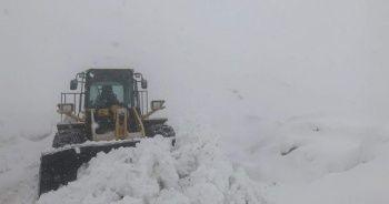 Siirt'te 50 köy yolu ulaşıma kapandı