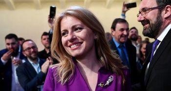 Slovakya'da cumhurbaşkanlığı seçimini Caputova kazandı