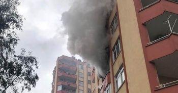 Yangın çıkan evde mahsur kalan 4'ü çocuk 5 kişi kurtarıldı