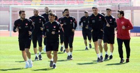 A Milli Futbol Takımı Arnavutluk'ta çalıştı