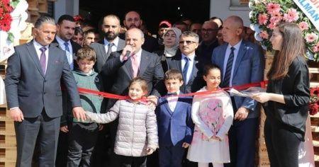 Bakan Varank Yalova'da ahşap ambalaj fabrikası açtı