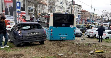 Beyazıt'taki kazanın şoförü serbest kaldı