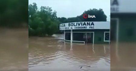 Bolivya'da şiddetli yağış sonucu 33 kişi hayatını kaybetti