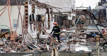 Çin'de bilanço artıyor: 64 ölü