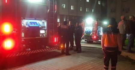 Ege Üniversitesi Diyaliz Merkezi'nde korkutan yangın