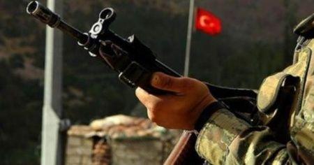 Jandarma karakoluna taciz ateşi: 1 asker yaralandı