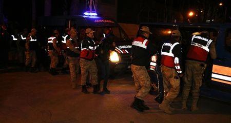 Kahramanmaraş'ta aranan 33 kişi yakalandı