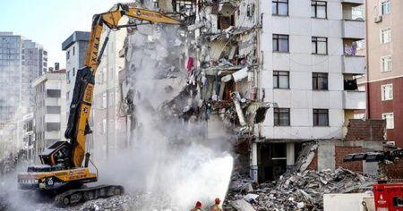 Kartal'daki çöken binaya ilişkin bilirkişi raporu hazırlandı