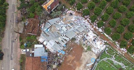 Kumluca'daki hortum mağdurlarına 6,9 milyon liralık yardım