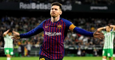 Messi'li Barcelona şampiyonluk yarışında farkı açtı