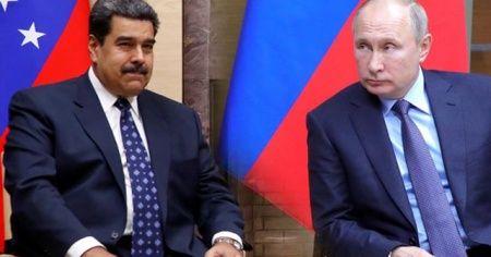 Rusya, Venezuela'ya asker gönderdi iddiası