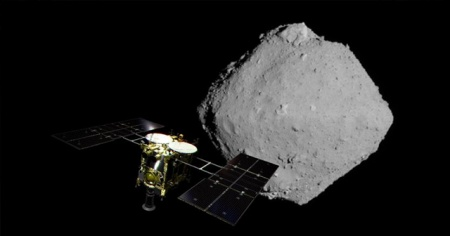 Ryugu asteroidinde suyun varlığına işaret eden mineraller keşfedildi
