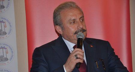 TBMM Başkanı Şentop: 'Üzerinden 52 yıl geçince Golan Tepelerini kazanmış mı oluyorsun'