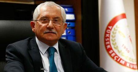 YSK Başkanı Güven'den seçim hazırlıkları açıklaması
