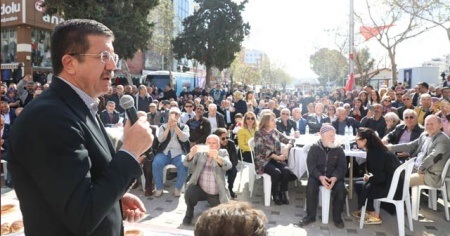 Zeybekci'den seçilmesi halinde suya yüzde 50 indirim sözü