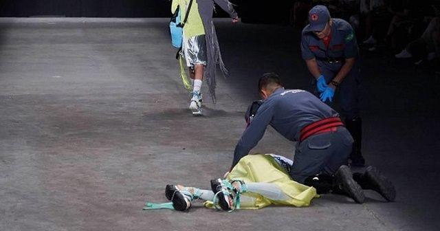 'Brezilyalı manken podyumda hayatını kaybetti