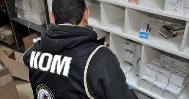 120 milyon TL'lik ilaç vurgunu çetesine operasyon: 35 gözaltı