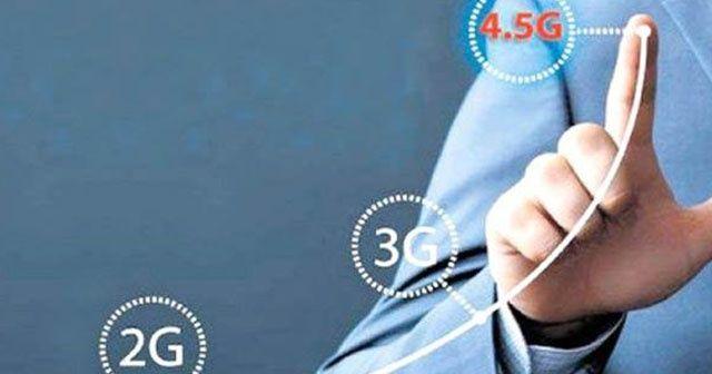 4,5G'li abone sayısı 3G'lileri 11'e katladı