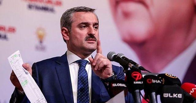 AK Parti İstanbul İl Başkanı Bayram Şenocak: İstanbul oylarımızda bin sandıkta 25 bin oy geçersizdir