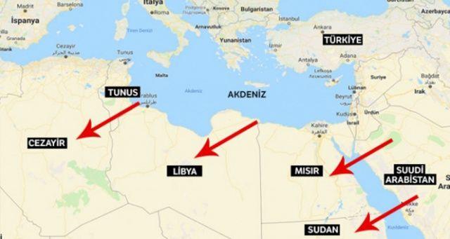 Akdeniz kuşatması!