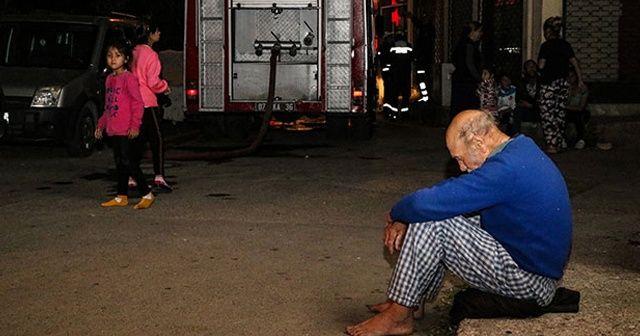 Antalya'da üzücü olay! Çaresizlik içerisinde izledi