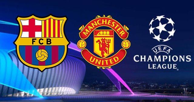 Barcelona Manchester United maçı şifresiz canlı izle! Barcelona Manchester United canlı skor kaç kaç? Şifresiz veren yabancı kanallar var mı?