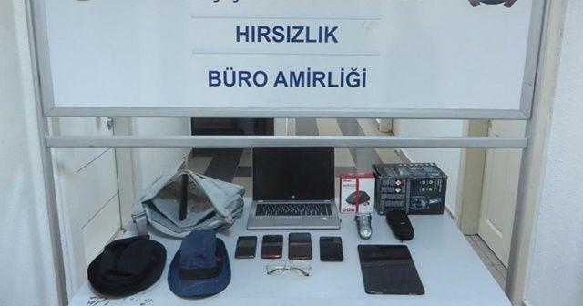 Başkent'te elektronik eşya hırsızlarına operasyon