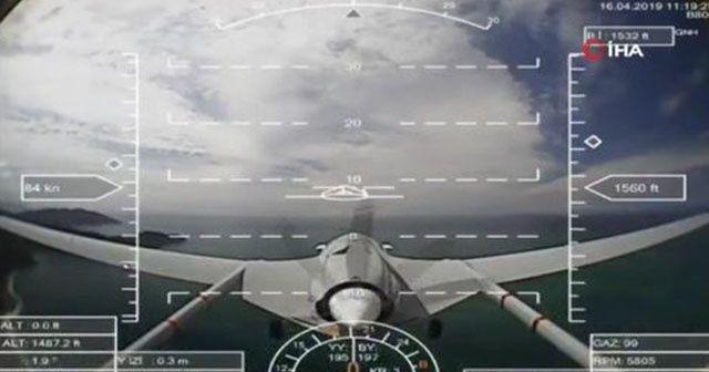 SİHA Akdeniz semalarında ilk test uçuşunu yaptı