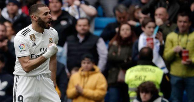 Benzema attı Real Madrid kazandı