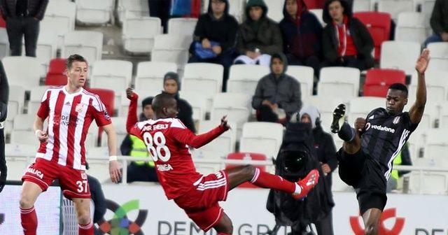 Beşiktaş Sivasspor'u 2-1 yendi