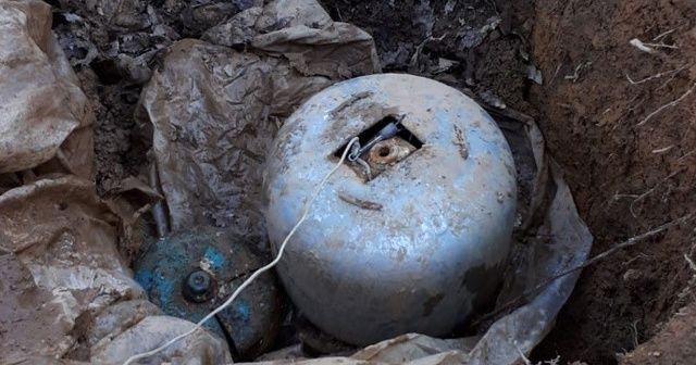 Bingöl'de 2 patlayıcı ele geçirilerek imha edildi