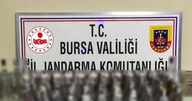 Bursa'da kaçak içki operasyonu