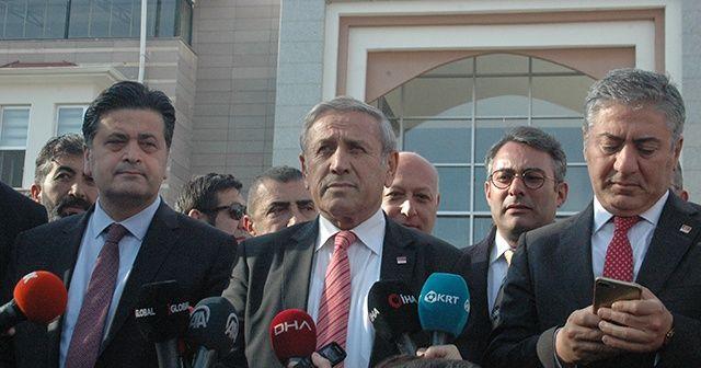 CHP'li heyet suç duyurusunda bulundu