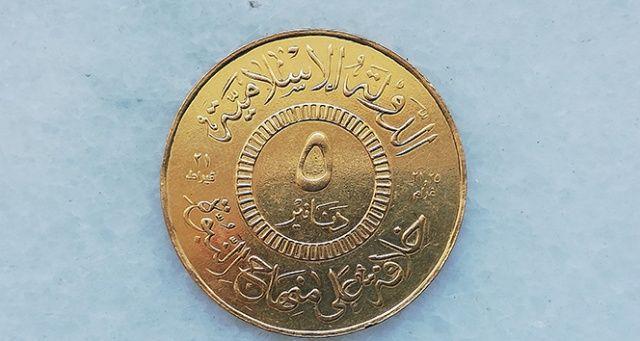 DEAŞ'ın kendi adına bastırdığı 16 altın sikke ele geçirildi
