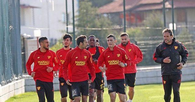 Göztepe, Medipol Başakşehir maçı hazırlıklarını sürdürdü