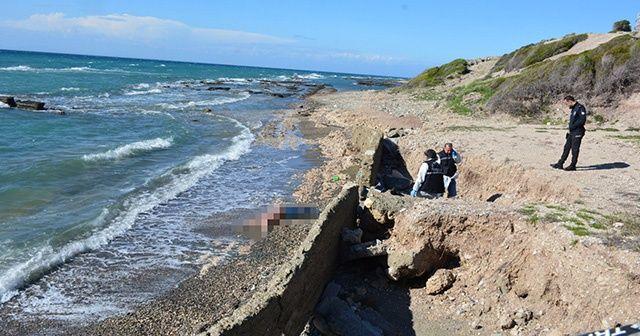 Hatay'da deniz kıyısında erkek cesedi bulundu