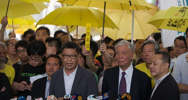 Hong Kong'da 9 Şemsiye Hareketi lideri suçlu bulundu