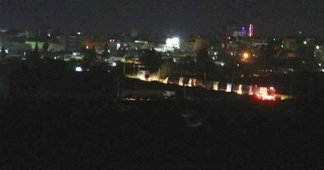Irak'tan Suriye'ye geçen ABD konvoyu görüntülendi