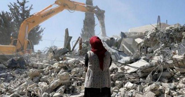 İsrail Kudüs'te 3 bin Filistinliyi evsiz bıraktı