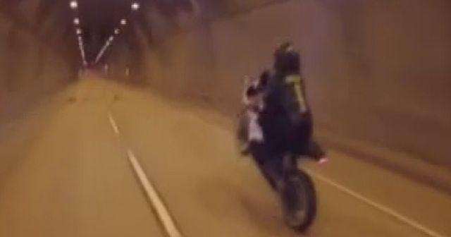 İstanbul'da tek teker üzerinde terör estiren maganda yakalandı