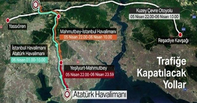 İstanbul Havalimanı'na 'büyük göç' bu gece başlıyor