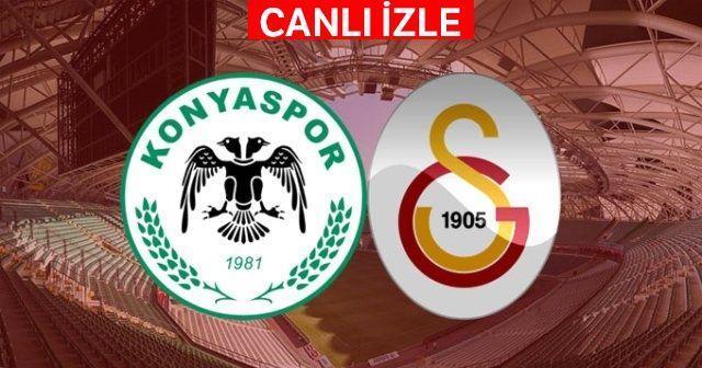 Konyaspor Galatasaray Maçı Canlı İzle! Konya GS Maçı Şifresiz Veren  Kanallar var mı? Beinsports Canlı İZLE
