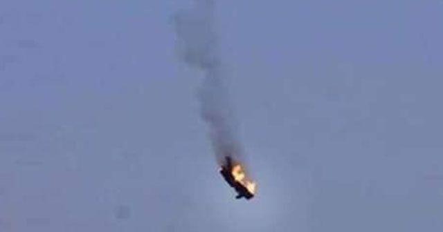 Libya'da Hafter güçlerine ait askeri uçak düştü