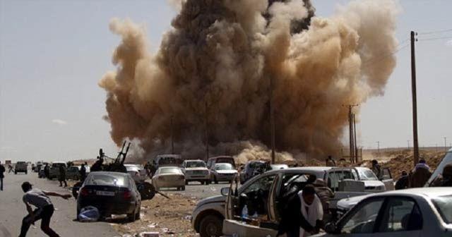 Libya'daki ölü sayısı 220'ye yükseldi